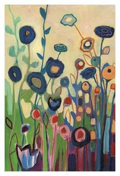 Meet Me In My Garden Dreams Pt. 1 Art Print by Jennifer Lommers at Art.com