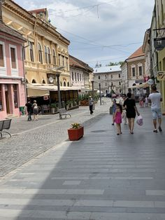 A small provincial city in the heart of Transylvania In The Heart, Romania, Street View, City, Places, Cities, Lugares