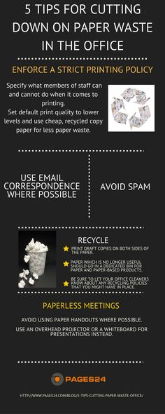 If you want to make your office a more environmentally-friendly and cheaper place to operate without paper waste, take heed of the following.