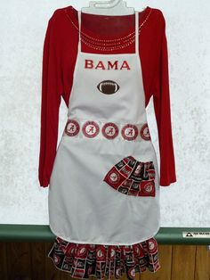 Alabama Crimson Tide Apron.