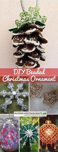 Free beaded ornament tutorials
