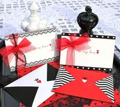 Queen of Hearts Valentine Printable Party Pack - DIY. $12.50, via Etsy.