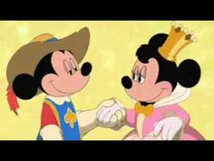 """This is a picture Prince Mickey and Princess Minnie on their honeymoon in the future setting of """"Mickey, Donald, Goofy: The Three Musketeers"""". Together Forever Disney Mickey, Disney Art, Walt Disney, Mickey Mouse, Go Broncos, The Three Musketeers, Disney Princes, Together Forever, Music Artists"""