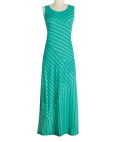 Alhambra Green Kaysen Maxi Dress