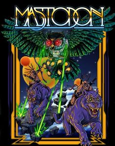 Mastodon...currently one of my favorite bands in music right now, I saw them with Gojira at Starland Ballroom in Sayreville, NJ on November 1, 2014! It was an awesome show!