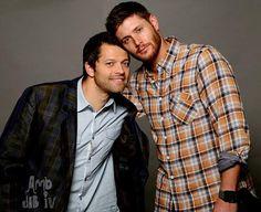 Misha Collins & Jensen Ackles
