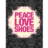 Naughty Betty Peace Love Shoes 4G iPhone Skin