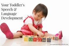 Toddler Speech & Language Development