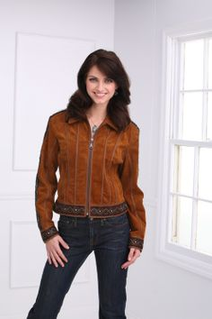 Rusty Spur Couture Cripple Creek Hand Braided Trimmed Jacket - LL36261, ,