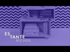 Estante Nichos :: Faça você mesmo :: DIY design :: móveis - YouTube