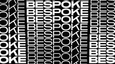 Bespoke — DIA — Brand, Design & Typographic Kinesis