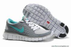 c75c78ccc924c4 New 395912-103 Nike Free Run Gray Navy Womens Nike Free 3