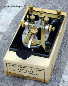 J-38 Morse Code Straight Key
