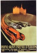 To attend a race at the famous Monza race track in Italy, known as the 'La Pista Magica', or the Magic Circuit.