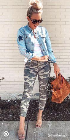 Camo Fashion, Love Fashion, Autumn Fashion, Fashion Looks, Fashion Outfits, Womens Fashion, Fashion Trends, Girl Outfits, Hot Mom Outfits