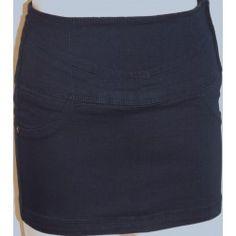 Bershka dámská sukně tmavě modrá S