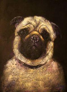 "Saatchi Art Artist Alla Dzevaltovska; Painting, ""Bucks"" #art"