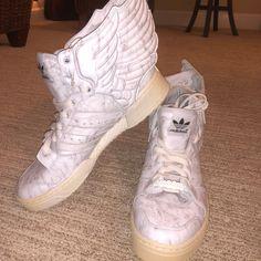 super popular d8ddc c49da Jeremy Scott x Adidas Shoes   Jeremy Scott Adidas Wings 2.0   Color  White    Size  8.5