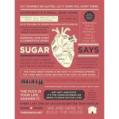 """""""Sugar Says"""" Poster   The Rumpus Store"""
