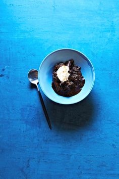 Slow Cooker Chocolate Pudding Cake #slowcooker #dessert #chocolate