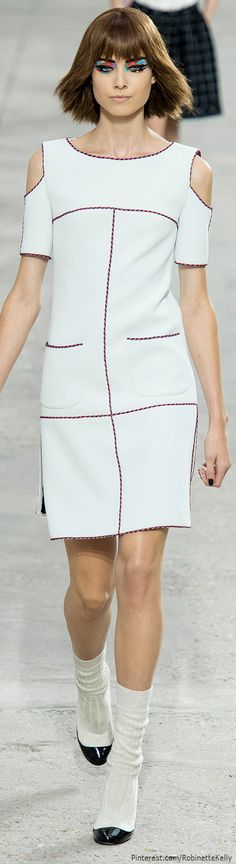 #Chanel | S/S 2014 RTW – check out the fashion show on-line if you can. Amazing!