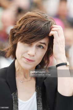 Photo d'actualité : Actress Charlotte Gainsbourg attends the...