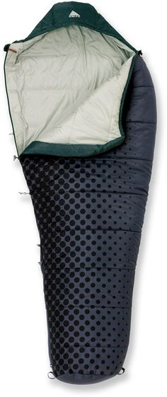 Now here's a bag with style! At REI Outlet: Kelty Cosmic 35 Sleeping Bag.