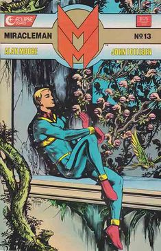 Marvelman, also known as Miracleman for trademark reasons in his American reprints and story continuation, is a fictional comic book superhero created in 1954 by writer-artist Mick Anglo for publisher L. Miller & Son. http://www.rarecomicbooks.fashionablewebs.com/MiracleMan.html  #neilgaiman  #miracleman