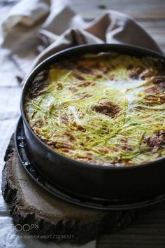 Rice and cabbage timbale by RebeckaGSendroiu