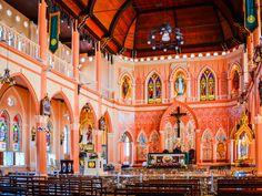 อาสนวิหารพระนางมารีอาปฏิสนธินิรมล Cathedral of the Immaculate Conception, Chanthaburi, Thailand