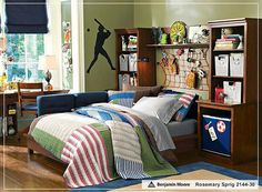 10 Inspirational Pictures for Teen Boys Bedroom Design Ideas