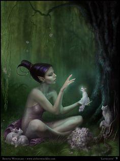 Benita Winckler Fantasy Art