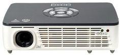 AAXA Technologies® P450 Pro 500-Lumen WXGA DLP Pico Projector with Wi-Fi - White/Gray (KP-650-03)