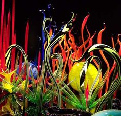 De Young Museum, San Francisco, California by Chihuly