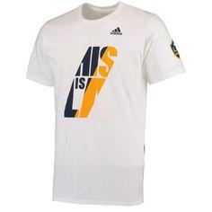 LA Galaxy adidas Jersey Hook T-Shirt - White