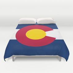 Colorado State Flag - Authentic version Duvet Cover by LonestarDesigns2020 - Flags Designs + - $99.00