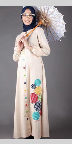 Batik Fashion, Fashion Blouses, Abaya Fashion, Muslim Fashion, Modest Fashion, Fashion Dresses, Little Dresses, Cute Dresses, Casual Dresses