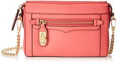 Rebecca Minkoff Mini Crosby Cross Body Bag in Watermelon - http://www.bagyou.net/rebecca-minkoff-bags/rebecca-minkoff-mini-crosby-cross-body-bag-watermelon/