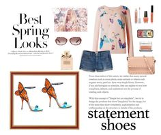 """""""Butterfly Shoes"""" by brandikw ❤ liked on Polyvore featuring J.Crew, Valentino, CHARLES & KEITH, H&M, Urban Decay, OPI, Clinique, Bobbi Brown Cosmetics, Christian Dior and Casetify"""