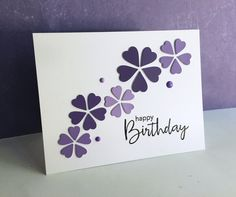 I LOVE, LOVE, LOVE, the new Floral Burst Collage die from Simon Says Stamp!!  I made two  cards simply using the die diagonally on the ca...