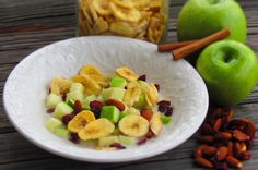 """Crisp Apple and Almond """"Cereal"""""""