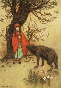Warwick Goble | ILLUSTRATION | Red Riding Hood