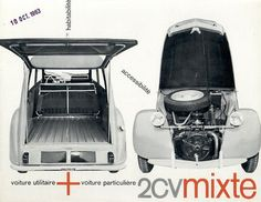 1963 Citroen Brochure