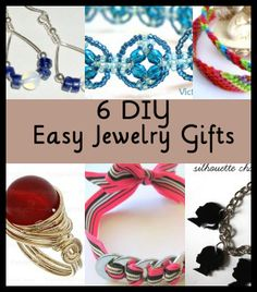 easy diy jewelry for gifts at dishinwithrebelle.com