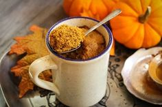 Nutrisystem provides a tasty recipe for a Pumpkin Spice Mug Cake you can enjoy whether you're looking to lose weight or just craving fall's favorite flavor.