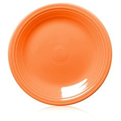 Fiesta Tangerine Dinner Plate 10.5-In. (23 BAM) ? liked on Polyvore  sc 1 st  Pinterest & Rachael Ray Orange Dinner Plate - Set of Four | Orange dinner plates ...