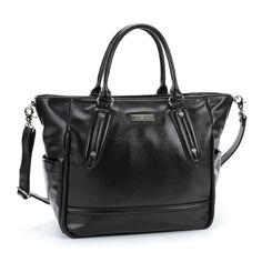 Lily jade diaper bags their caroline diaper bag. For moms who like diaper bags that look more like a purse. Id love one of these!