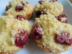 Raspberry strudel muffins – Drizzle Me Skinny!