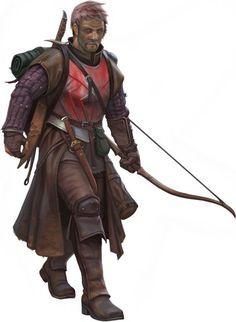 m Ranger traveller bow sword backpack Colwyn Fletcher, the Horizon Walker