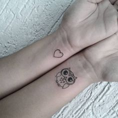 Heart-And-Owl-Tattoo-On-Wrist-WT116.jpg (768×768)